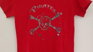 Tshirt-rot-mit-Druck-front