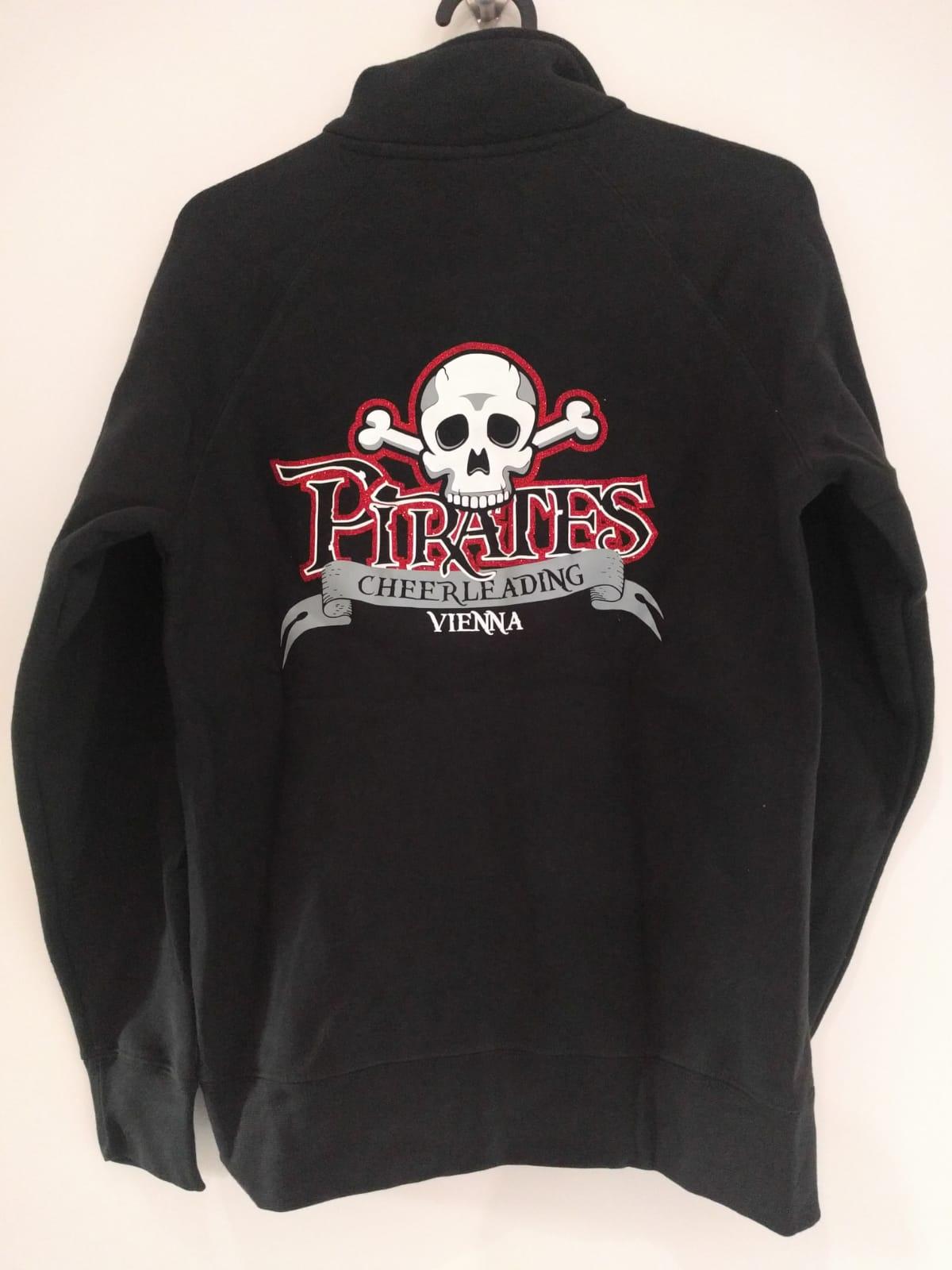 zipper-hoodie-schwarz-mit-Druck-back